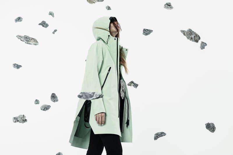 KRAKATAU Spring Summer 2019 SS19 Collection 3000mm waterproofness QUBIT jacket MISHIMA raincoat light softshell jackets Lookbook