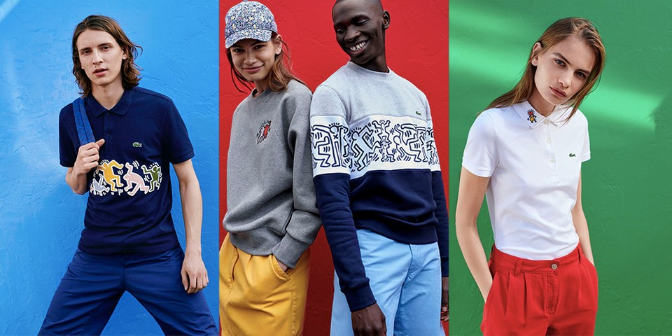 1dd3fa5c Keith Haring x Lacoste Collaboration Details | HYPEBEAST