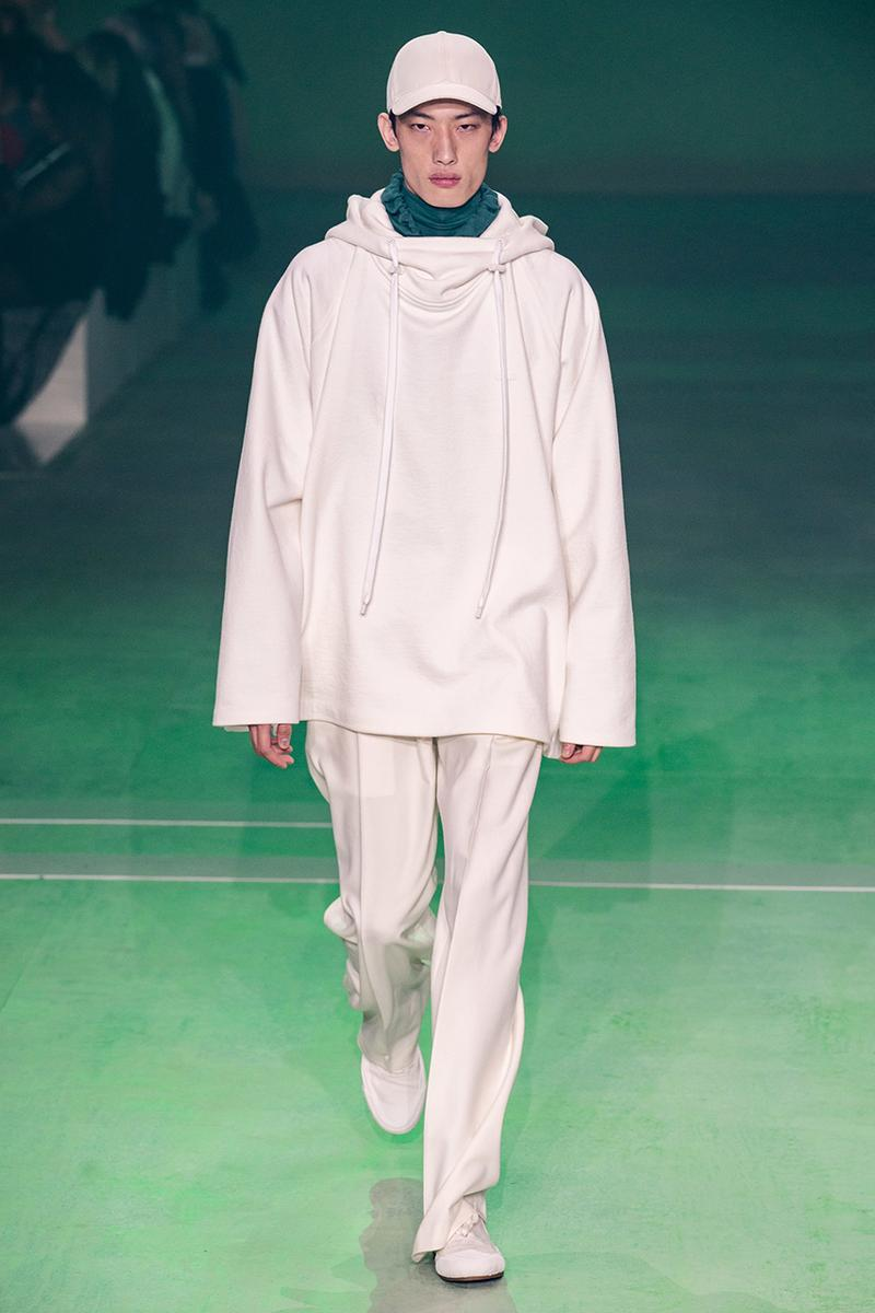 Lacoste FW19 Paris Fashion Week Autumne Hiver 19 FW19 AW19 Collection Lousie Trotter CD Creative Director Designer Runway Presentation Boxy Streetwear Heritage René Lacoste Oversized Tailoring