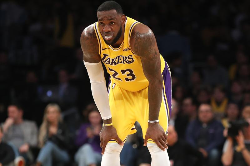 LeBron James Out Rest of Season Injury Los Angeles Lakers NBA National Basketball Association Playoffs Groin