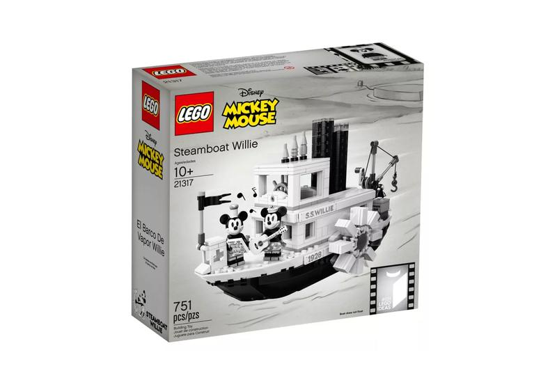 Lego Ideas Steamboat Willie Release Info Disney Lego Mickey Mouse