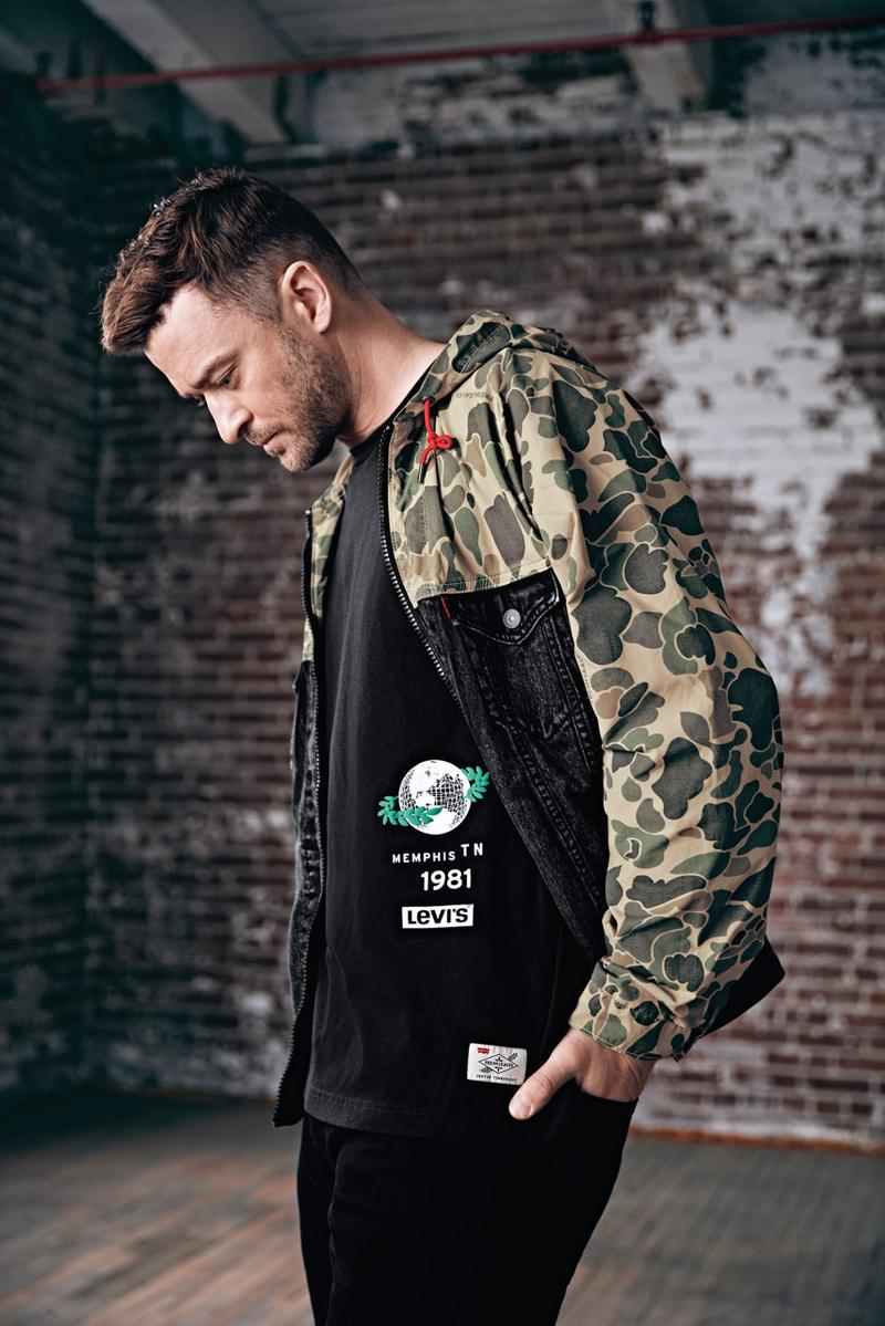 levis justin timberlake spring summer 2019 connection lookbook images