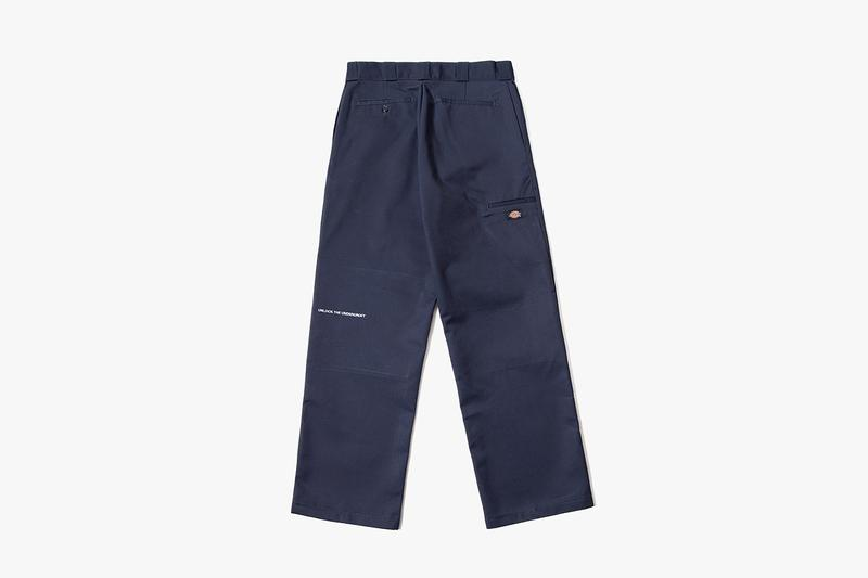 LLSB Long Live Southbank Dickies Double Knee Skate Pants Trousers Grey Branding Logo Slogan Charity Workwear Streetwear Construction Soho Radio Drop Release Information