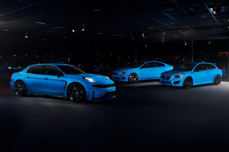 Lynk Co Cyan Racing Concept Release Info 528 horsepower HP driving drive car racing track street legal
