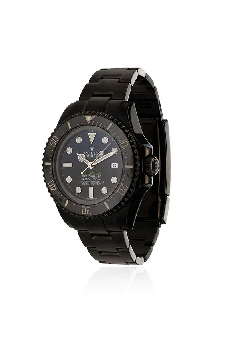 "MAD Paris Coats the Rolex Sea-Dweller in ""Deepsea"" Black"