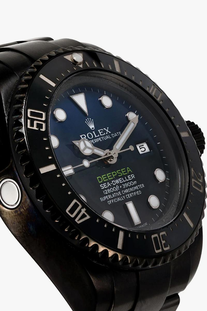 mad paris rolex deepsea stainless steel watch release browns