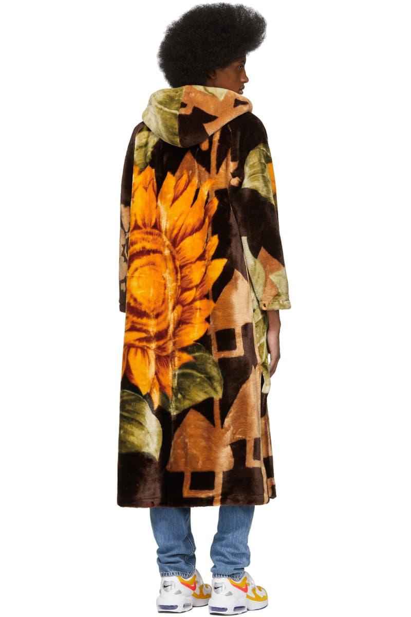 marine serre multicolor upcycled Blanket Coat spring summer 2019 mens