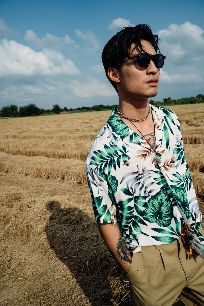 Siwilai Patent 001 by Masafumi Watanabe Lookbook bebetan collection thailand bangkok collaboration