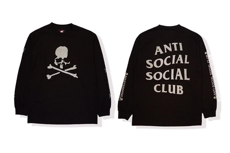 f227943ec65a mastermind JAPAN Teases Anti Social Social Club Collab 3m reflective shirt  black neek lurk one year