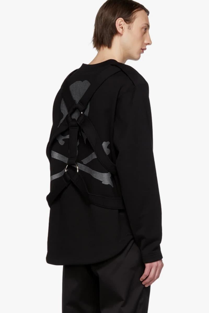 mastermind WORLD Straps Sweatshirt Release Black SSENSE masaaki homma