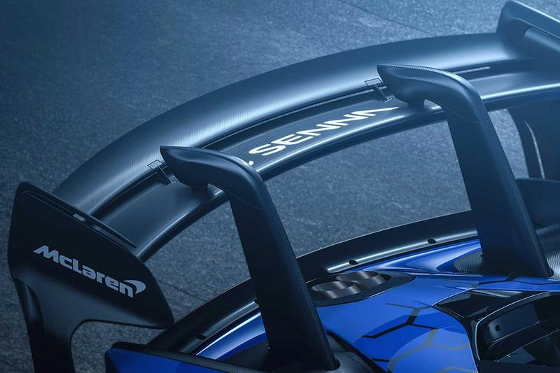 McLaren Production Version Senna GTR Reveal 2019 grey blue