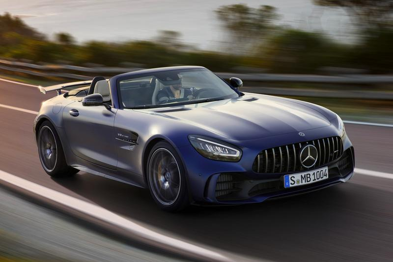 Mercedes-Amg 2019 GT-R Roadster Pack Release Info Cars Racing Speed german engineering supercar luxury AMG Roadster