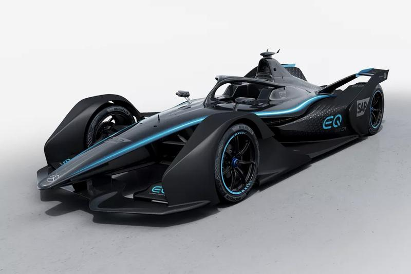 Mercedes-Benz Foruma E All Electric Racing Car 2019 Geneva Motor Show EQ Silver Arrow 01