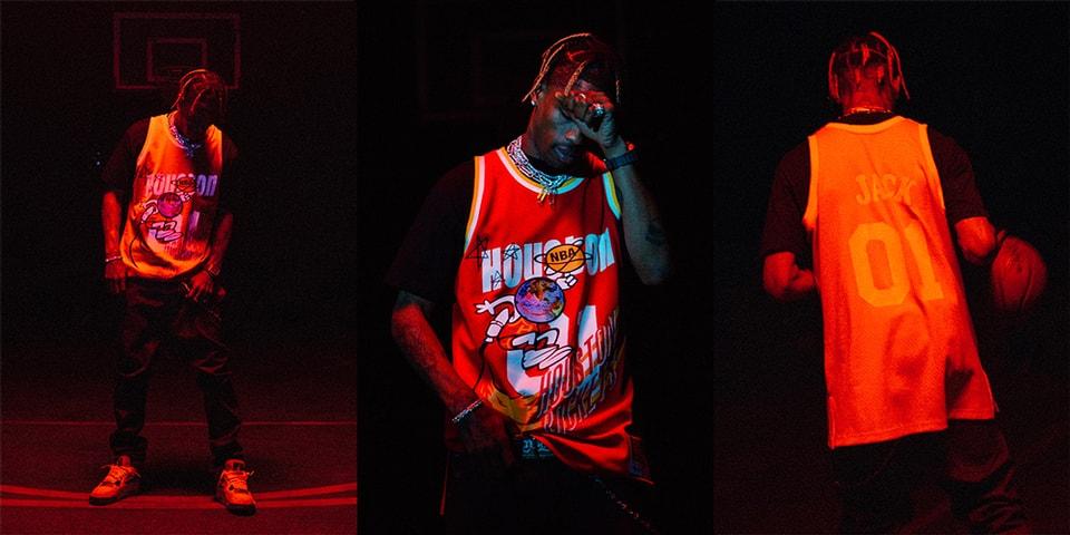 c7acb2f1d Mitchell & Ness x Bleacher Report NBA Remix - Travis Scott | HYPEBEAST