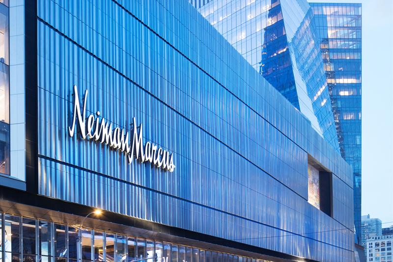 neiman marcus hudson yards manhattan store opening retail technology high tech interactive fitting room memory makeover sunglass memory mirror