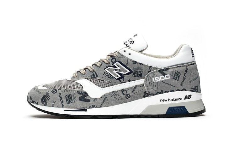 3ad2804153ebe New Balance 1500 Made in England Gets Archival Logomania Rework