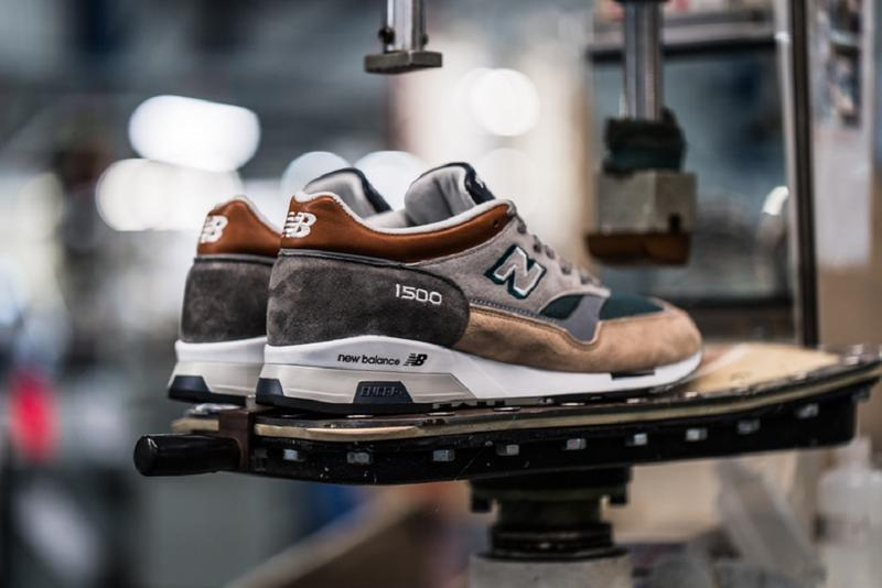 New Balance 43einhalb 1500 M150043EH The Trip sneaker shoe made in england 30th anniversary 2019 spring summer march info images pictures pics buy raffle gray gray teal green white orange blue