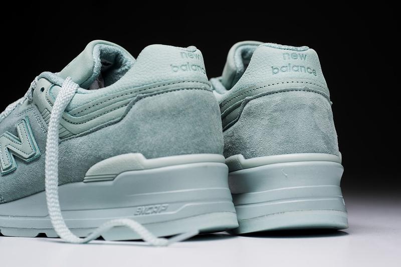 """New Balance 997 """"Mint Julep"""" Release sneakers fresh made in usa leather suede"""