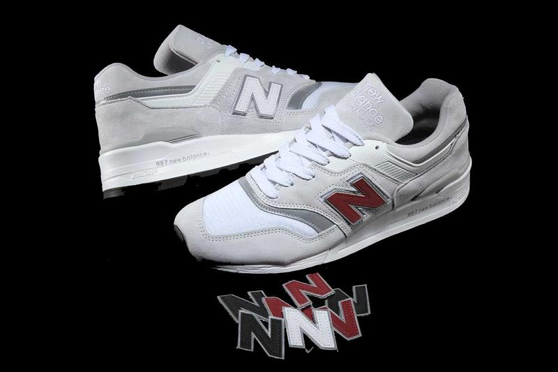new balance 997 swappable n logo release details sneakers footwear kicks shoes