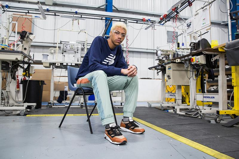 New Balance Made in England 1500 1530 770.9 1500.9 SS19 Spring Summer 2019 Collection Flimby Cumbria Factory Soho Lookbook Photoshoot Editorial