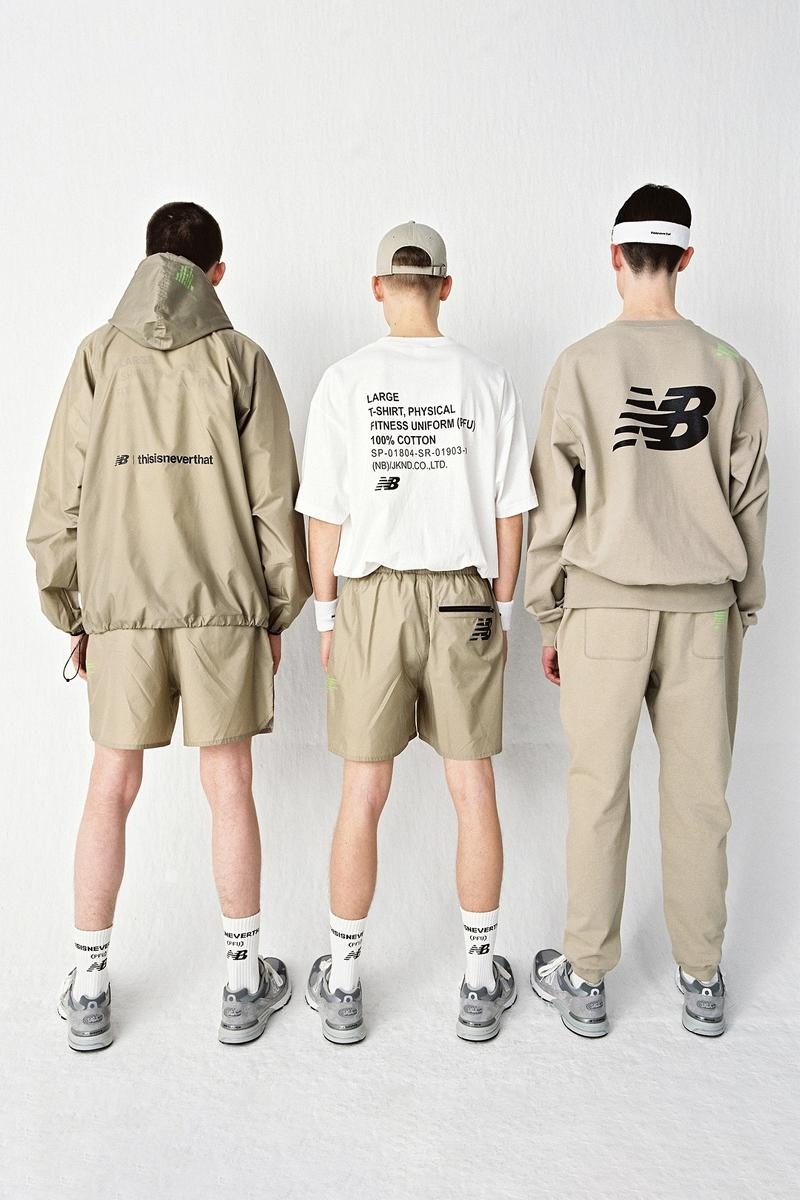 New Balance x thisisneverthat PFU Physical Fitness Uniform Drop Spring Summer 2019 SS19 Collection Collaboration March 8 Release