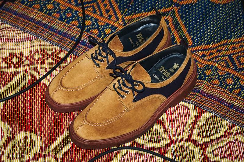 Nicholas Daley Spring/Summer 2019 Tricker's Release Details Date Apron Split Toe Shoe Footwear London Reggae Northampton Footwear Shoemaker First Look