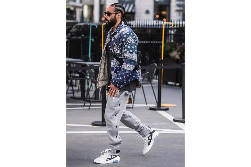 8993e793fef6 Jerry Lorenzo Takes a Walk in New Nike Air Fear of God 1 Colorway