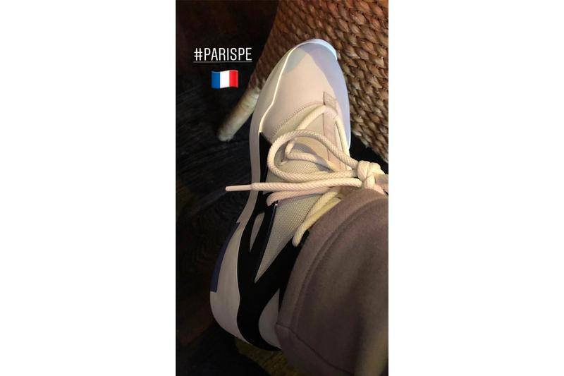 Nike Air Fear of God 1 Paris PE Jerry Lorenzo Debut