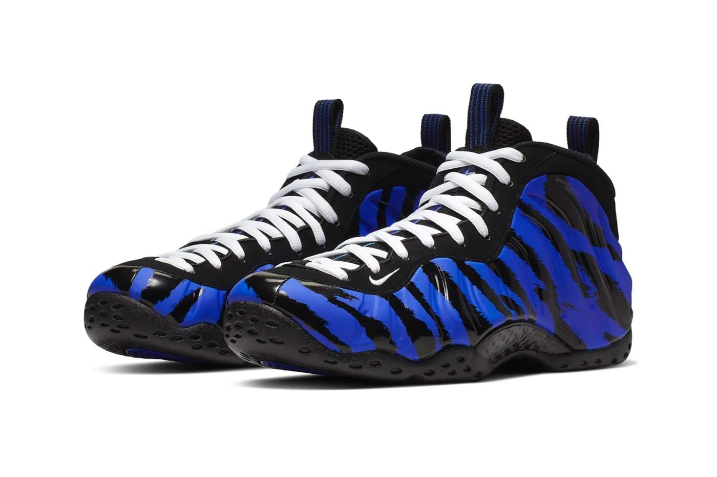 Mens Nike Air Foamposite One PRM Blue Mirror size ... eBay