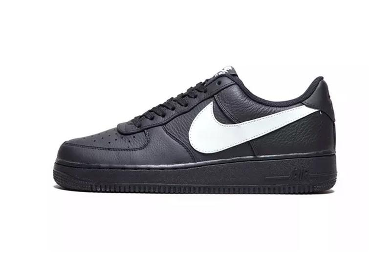 4424ae937e Nike Air Force 1 '07 Premium Black Colorway Drop | HYPEBEAST