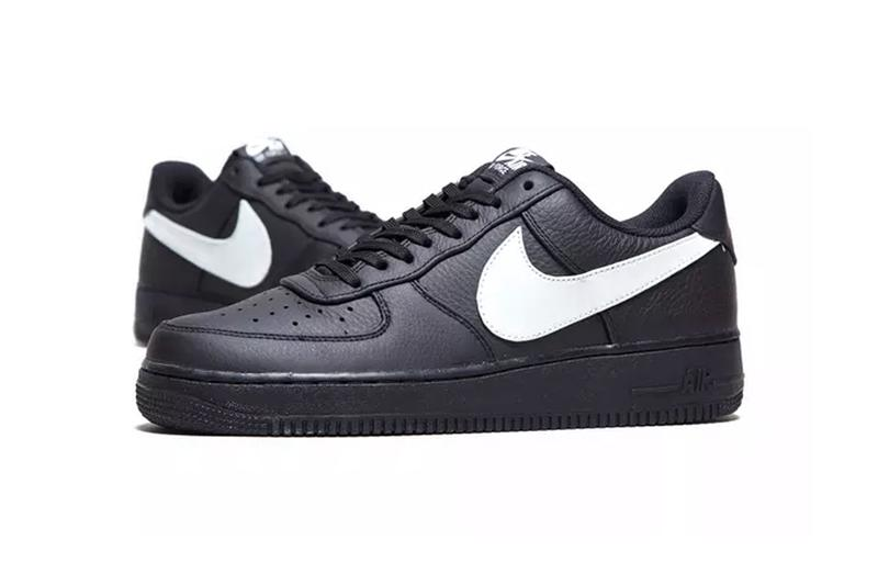 nike air force 1 07 premium black colorway sneaker release