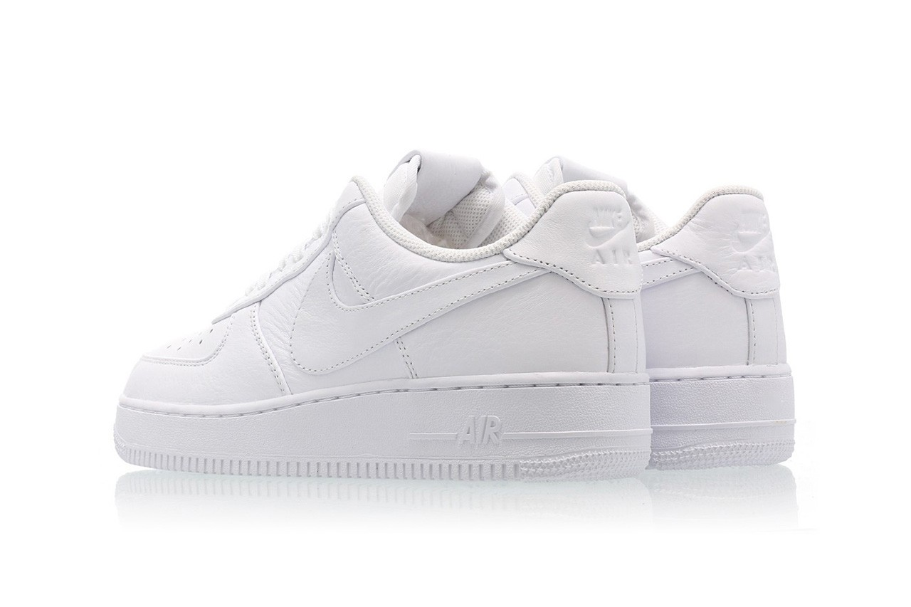 all white nike air force