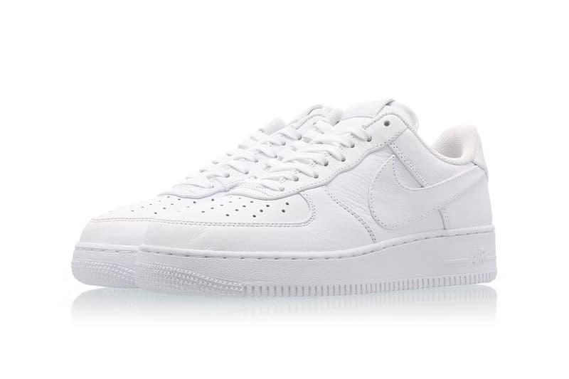 best website 90047 37b03 Nike Air Force 1 Big Swoosh All White Oversized Branding Logo Tick Release  Date Information Drop