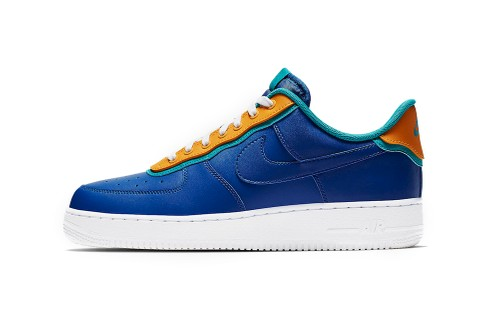 "Nike Air Force 1 ""Indigo Force"" Adapts New Layered Look"