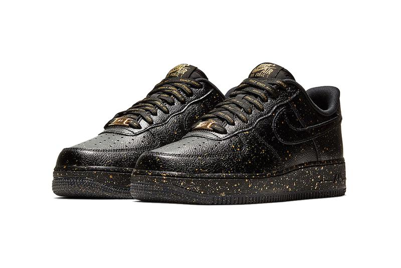 nike air force 1 low only once release information 2019 footwear sportswear sneakers shoes 07 LV8 hbl high school basketball league greater china black gold speckles confetti