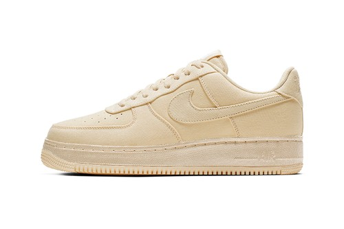 Nike's Air Force 1 Low Receives a Muslin Makeover Courtesy of Procell NYC