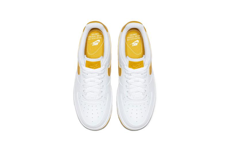nike air force 1 white yellow 2019 footwear nike sportswear