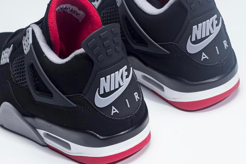 Nike Air Jordan 4 Bred 2019 Retro First Look Jordan Brand Michael Jordan