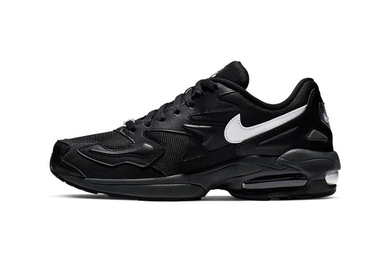 Nike Air Max 2 Light Black White Anthracite 19SP-I Atmos Shop Drop Date Release Information Available Now Blacked Out Triple Black Spring Summer 2019 Big Air Bubble