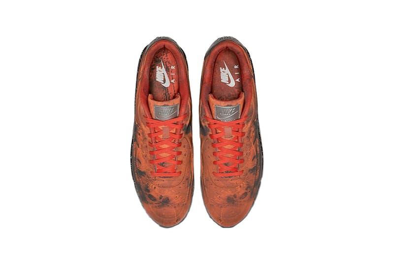 nike air max 90 mars landing  release date 2019 march footwear nike sportswear
