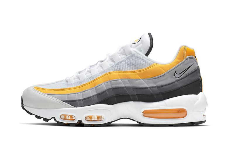 "Nike Air Max 95 ""Amarillo"" Release dark grey yellow white swoosh air max day"
