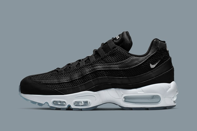Nike s Air Max 95 Gets a Sleek Black and Grey Rework 00a256d40