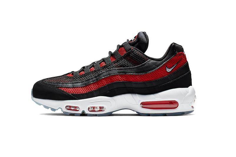 nike air max 95 essential bred black white university red