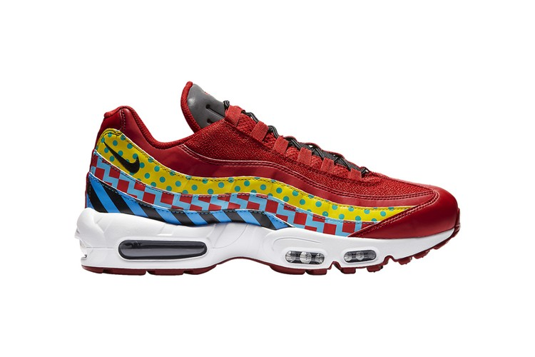2004c27d08 Nike Air Max 95 Incorporates a Fun Mix of Graphics and Colors Before Air Max  Day