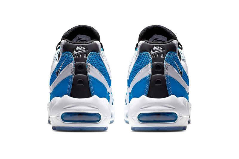 Royal Blue Nike Air Max 95 by Sergio Lozano sneakers shoes sporty