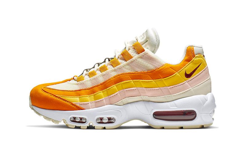 online retailer ebca2 31b8a Nike Air Max 95 Spring Inspired Colorway Release shoes sneakers Forward  Orange Pale Ivory