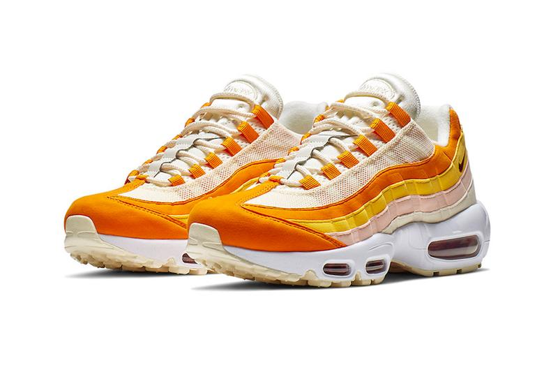 Nike Air Max 95 Spring Inspired Colorway Release shoes sneakers Forward Orange Pale Ivory