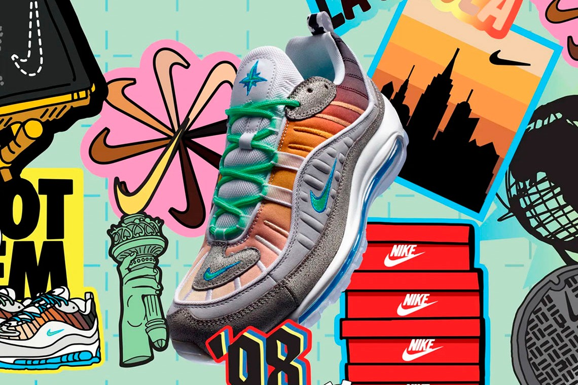 Best Sneaker Releases: April 2019 Week 2 nike on air collection london paris tokyo new york reebok tyler the creator converse bape bapesta air max 95 97 vapormax
