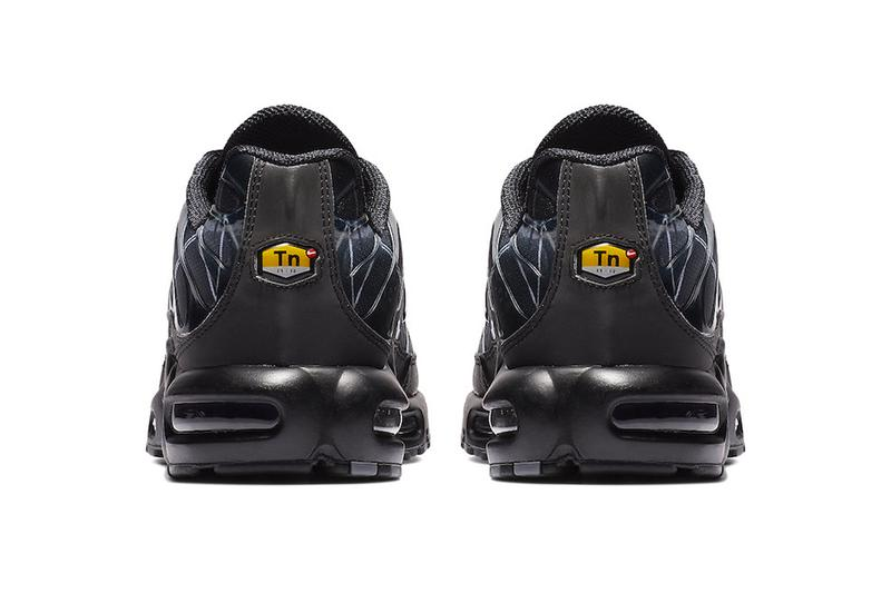 new styles 1e4b4 41feb Nike Air Max Plus Painted Swooshes Release Info Date Black White