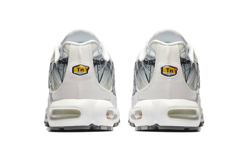 Nike Air Max Plus Painted Swooshes Release Info Date Black White